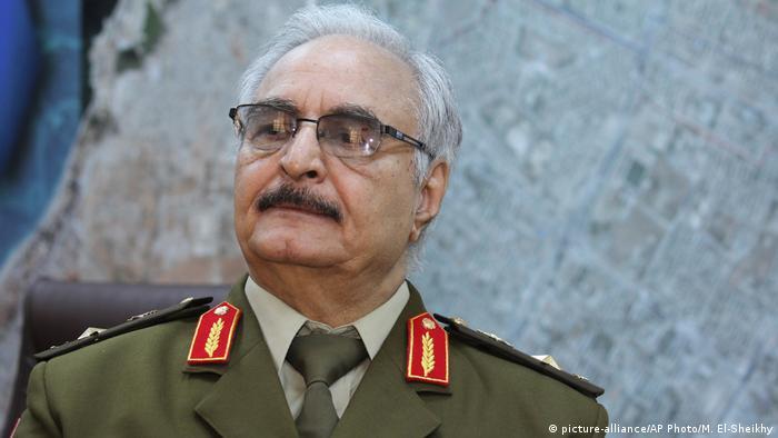 Libyen Armeechef Khalifa Hifter