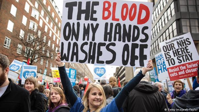 England Gesundheitswesen Protest March To Save The NHS (Getty Images/J. Taylor)