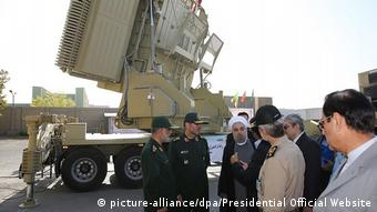 Iran Tehran - Bavar 373 Raketenabwehrsystem (picture-alliance/dpa/Presidential Official Website)