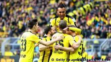 Deutschland Dortmund gegen Leverkusen