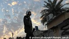 Bahrai Bereitschaftspolizist