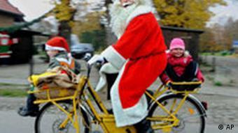 BdT- Weihnachtsmann Fahrrad