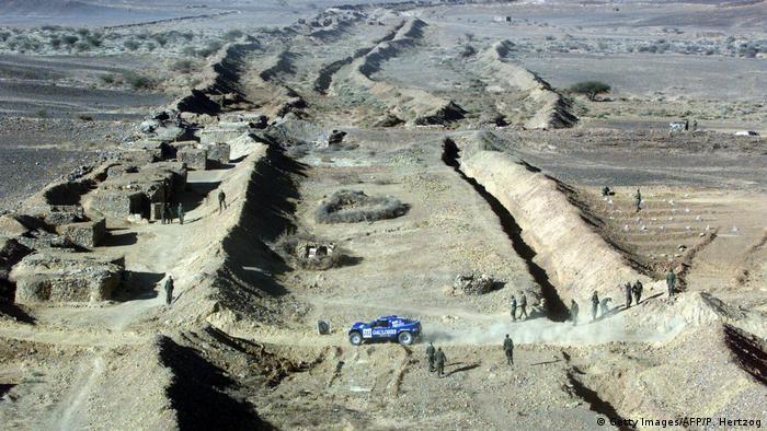 الجدار الأمني المغربي في الصحراء الغربية (أرشيف)
