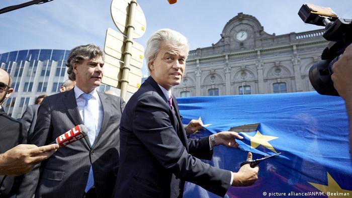 Niederlande Wahlkampf Geert Wilders ARCHIV