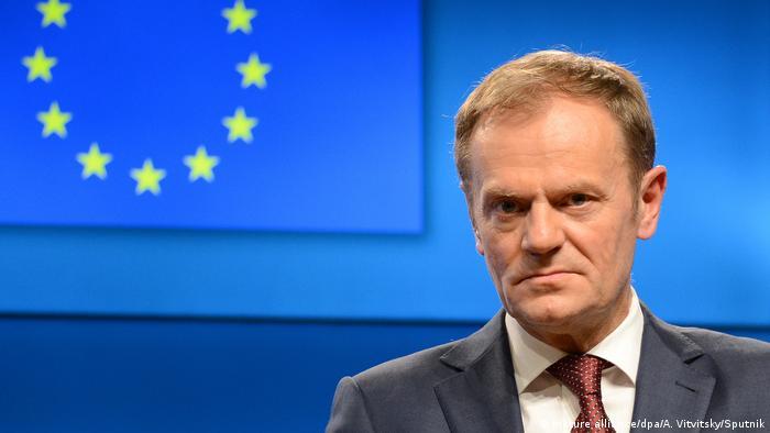 Polen Donald Tusk (picture alliance/dpa/A. Vitvitsky/Sputnik)