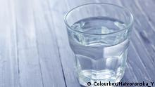 Symbolbild Wasserglas