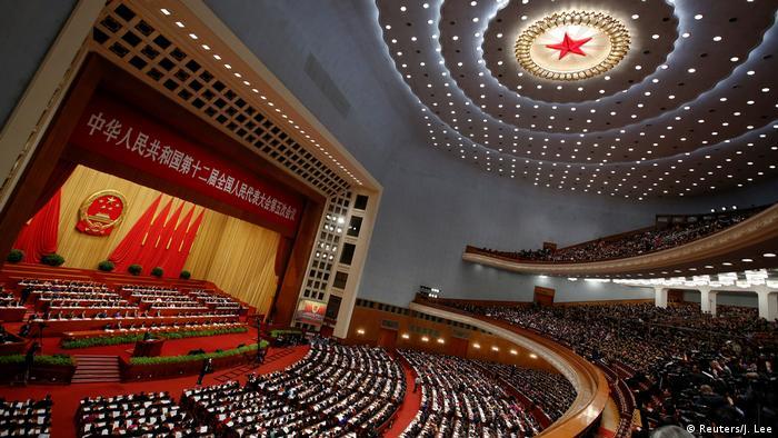 China Nationaler Volkskongress (Reuters/J. Lee)