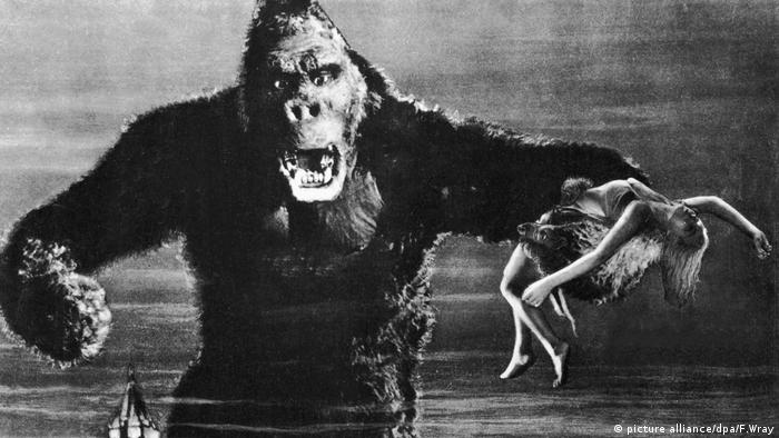 Film still King Kong, 1933 (picture alliance/dpa/F.Wray)