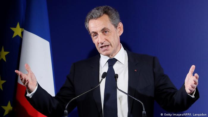 Frankreich Nicolas Sarkozy (Getty Images/AFP/I. Langsdon)