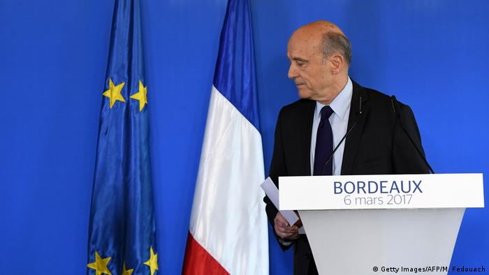 Frankreich PK Alain Juppé (Getty Images/AFP/M. Fedouach)
