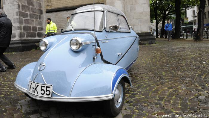 A Messerschmitt cabin scooter KR 200 (Photo: picture alliance/dpa/H. Galuschka)