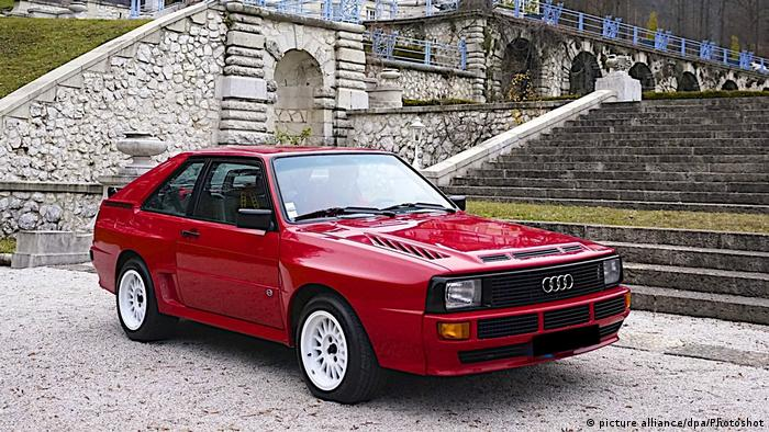 An Audi Quattro Sport (Photo: picture alliance/dpa/Photoshot)