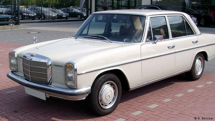 Ein Mercedes Benz W 115 (Foto: R. Stricker)