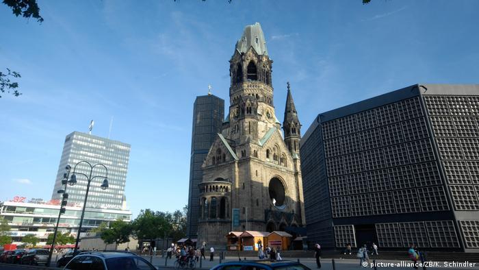Гедехтнискирхе в Берлине