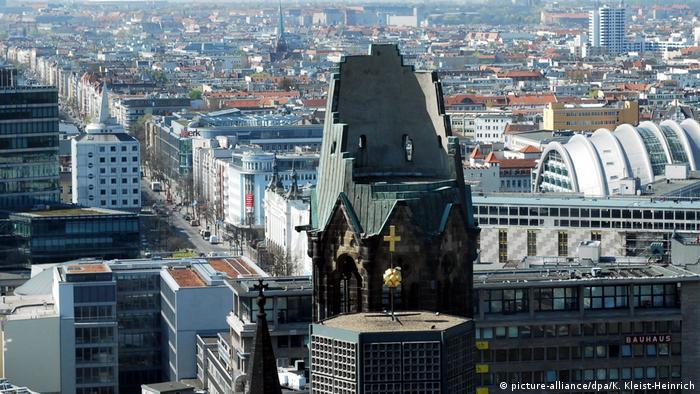 Berlin Sehenswürdigkeiten Gedächtniskirche (picture-alliance/dpa/K. Kleist-Heinrich)