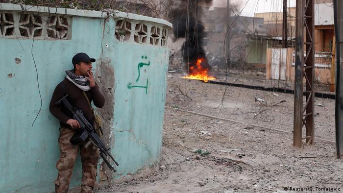 Irak Kämpfe gegen IS in Mossul (Reuters/G. Tomasevic)