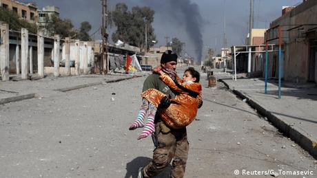 Irak Kämpfe gegen IS in Mossul (Reuters/G. Tomasevic)