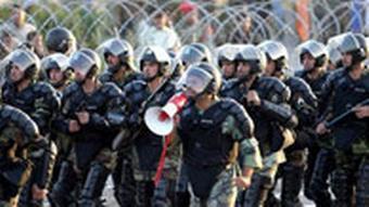 صحنهای از مانور نیروی انتظامی در تهران - عکس از آرشیو