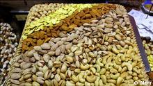 Iran Pistazienexport Nussladen in Teheran