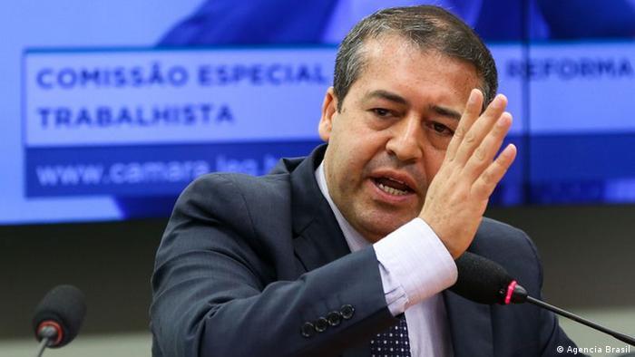 Ministro demissionário do Trabalho, Ronaldo Nogueira