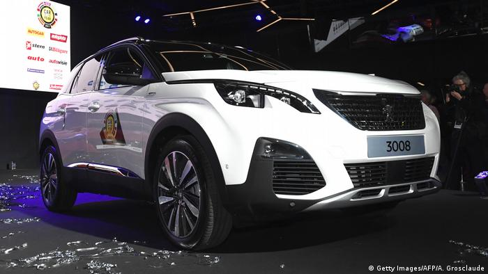 Peugeot 3008 (Getty Images/AFP/A. Grosclaude)