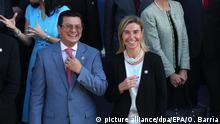 El Salvador Hugo Martínez und Federica Mogherini