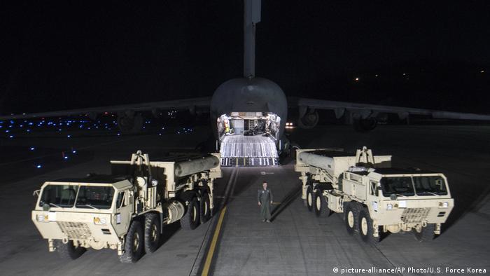 Südkorea US-Raketenabwehrsystem THAAD