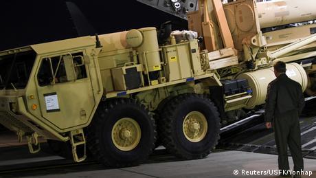Südkorea US-Raketenabwehrsystem THAAD (Reuters/USFK/Yonhap)