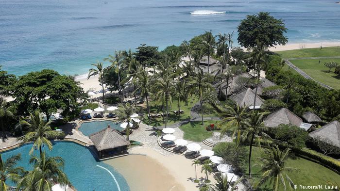 Indonesien Bali - Vorbereitungen für Anreise von König Salman (Reuters/N. Laula)