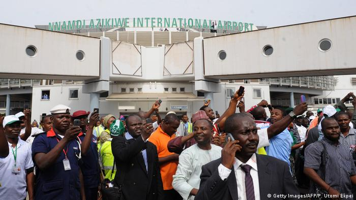 Nigeria Nnamdi Azikiwe International Airport in Abuja (Getty Images/AFP/P. Utomi Ekpei)