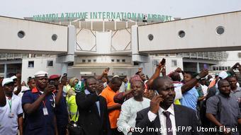 Nigeria Nnamdi Azikiwe International Airport in Abuja
