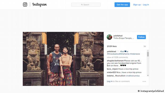Instagram Screenshot - Fahad bin Faisal Al Saud in Indonesien (Instagram/yolofahad)