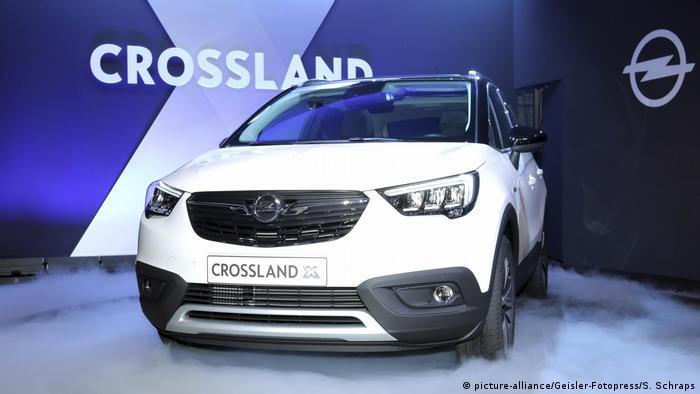 SUV compacto Crossland, o novo carro da Opel