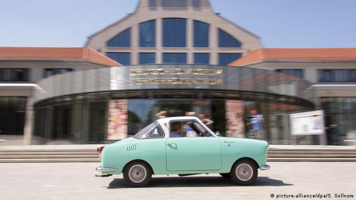 A Goggomobil (Photo: picture-alliance/dpa/S. Gollnow)