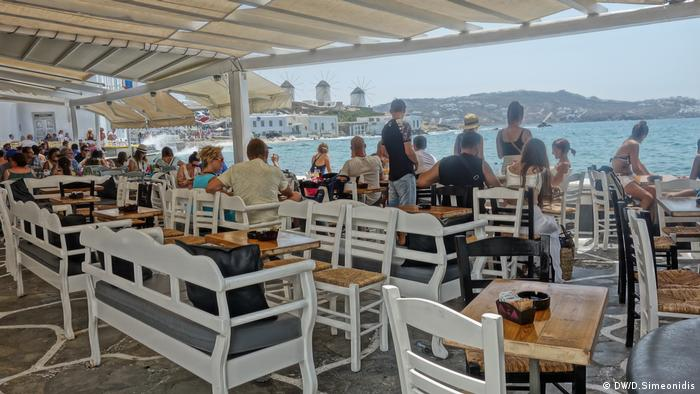 Insel Mykonos Griechenland (DW/D.Simeonidis)