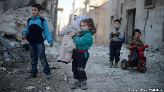 Half Of All Kids Are Traumatized >> Syrian Children Suffering Trauma From War News Dw 13 03 2017