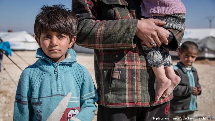 Syrien - Kinder im Krieg (picture-alliance/dpa/Save the children)
