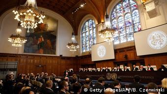 Niederlanden Den Haag - The International Court of Justice zum Fall Ukraine gegen Russische Federation