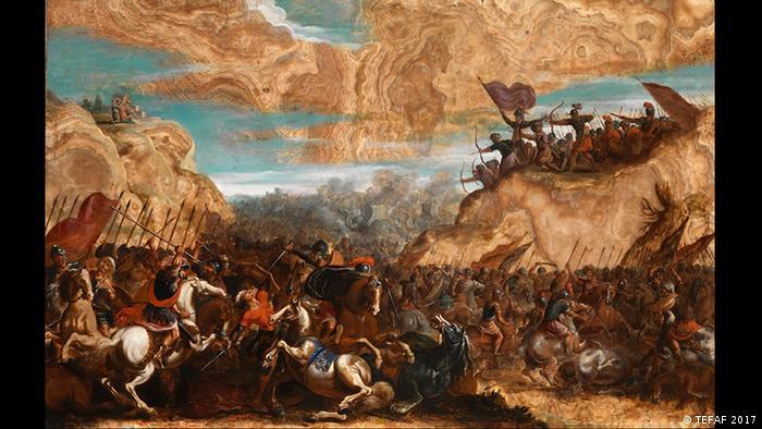 Battle of the Hebrews Against the Amalekites (TEFAF 2017)