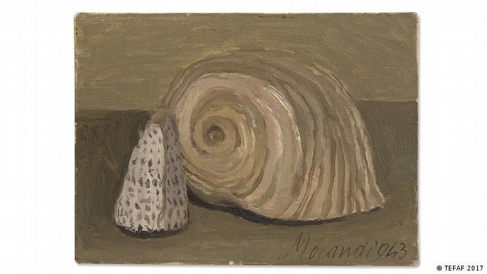A painting by Giorgio Morandi (TEFAF 2017)