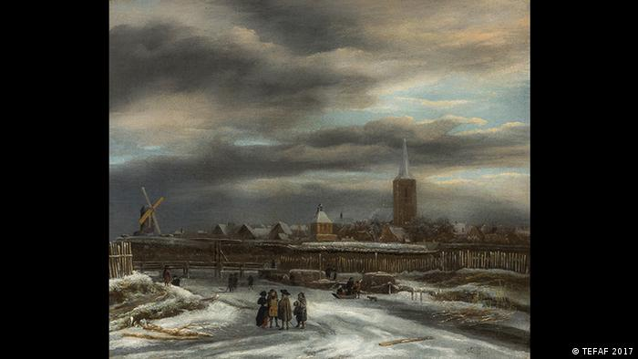 The town of Maastricht in a painting (TEFAF 2017)