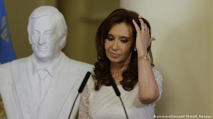 Cristina Fernandez de Kirchner (picture-alliance/AP Photo/R. Mazalan)
