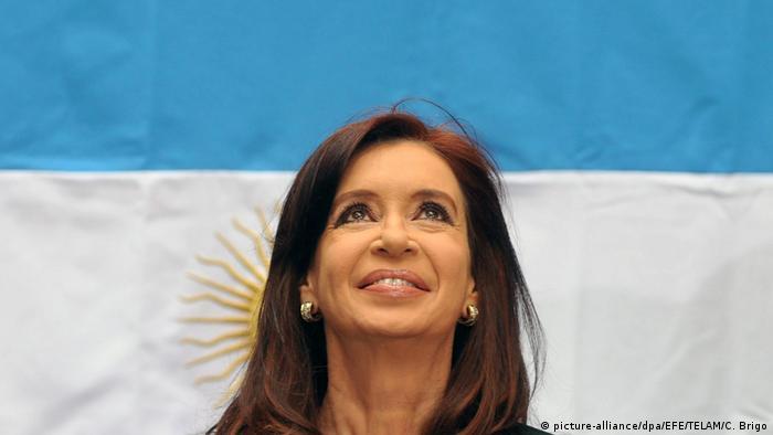 Cristina Fernandez de Kirchner (picture-alliance/dpa/EFE/TELAM/C. Brigo)