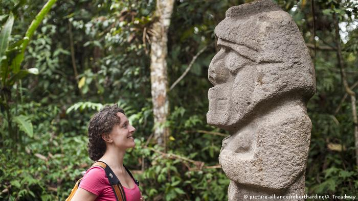 Kolumbien archäologischer Park San Agustin