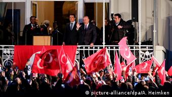 Выступление министра иностранных дел Турции Мевлюта Чавушоглу в Гамбурге