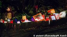 Deutschland Trauer nach Gewalttat an Kind in Herne