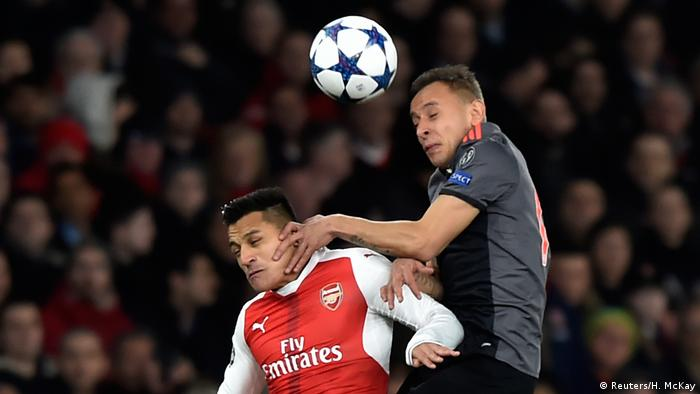 Championsleague Arsenal London gegen FC Bayern München (Reuters/H. McKay)