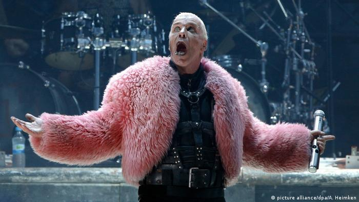 Фронтмен группы Rammstein Тиль Линдеман