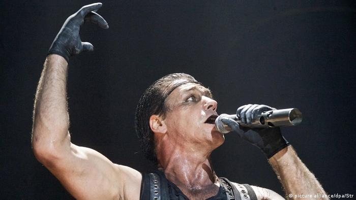 Rammstein singer Till Lindemann