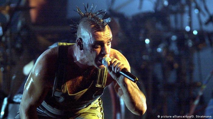 Rammstein's second single 'Radio' debuts on a Berlin wall